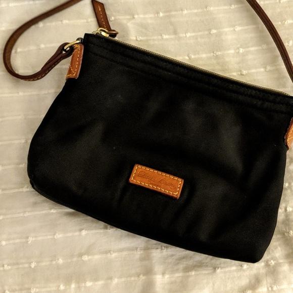 512feace6 Dooney & Bourke Handbags - Dooney & Bourke Nylon Crossbody Pouchette Bag